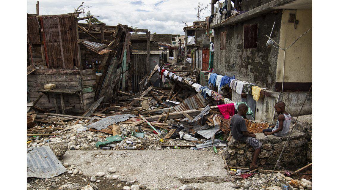 Ciudades enteras de Haití quedaron arrasadas por el huracán Matthew