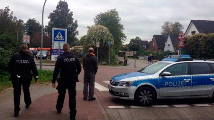 Alemania: la policía montó un operativo alrededor de la escuela