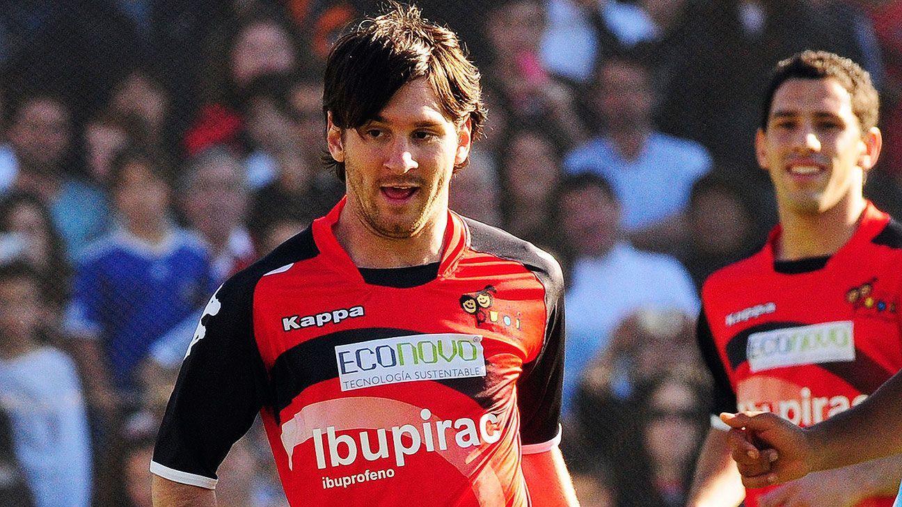 Messi incluye a Newells en su contrato con Barcelona