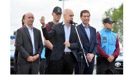 El jefe de Gobierno porteño presentó la nueva policía