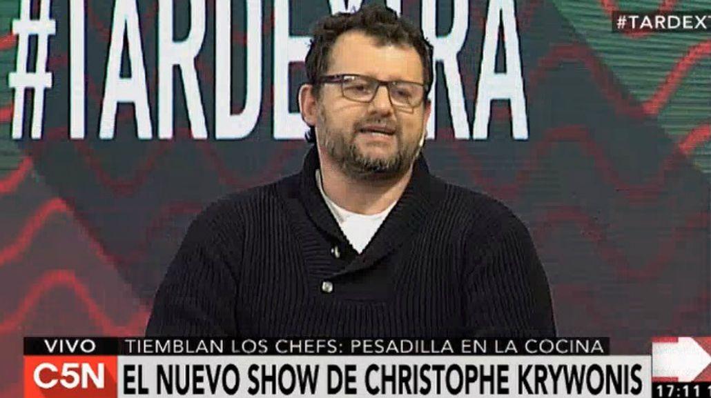 Las confesiones íntimas de Christophe Krywonis tras su debut en Pesadilla en la cocina.