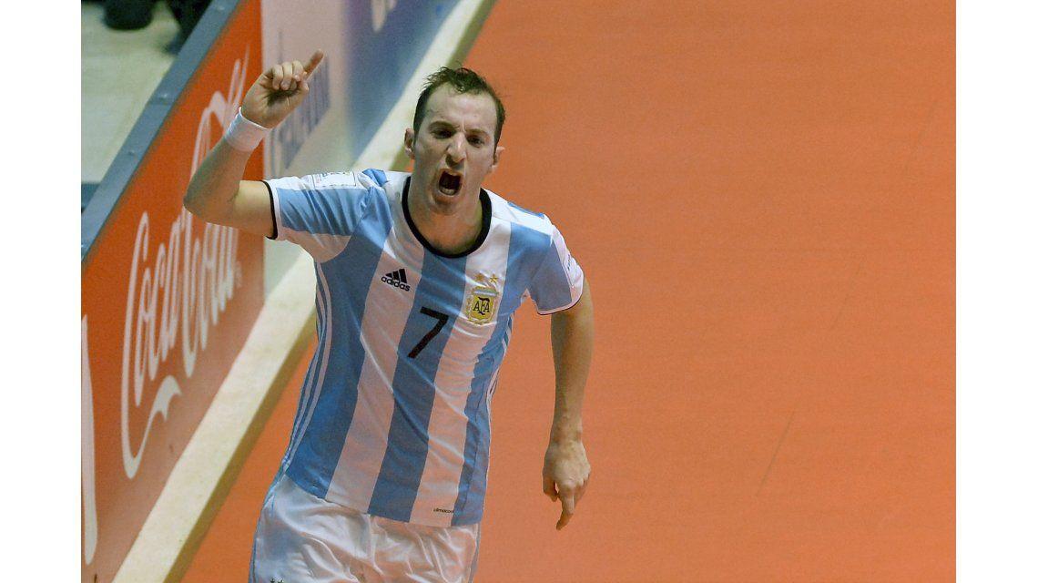 Argentina venció a Rusia en la final y se quedó con el Mundial de futsal que se disputa en Colombia
