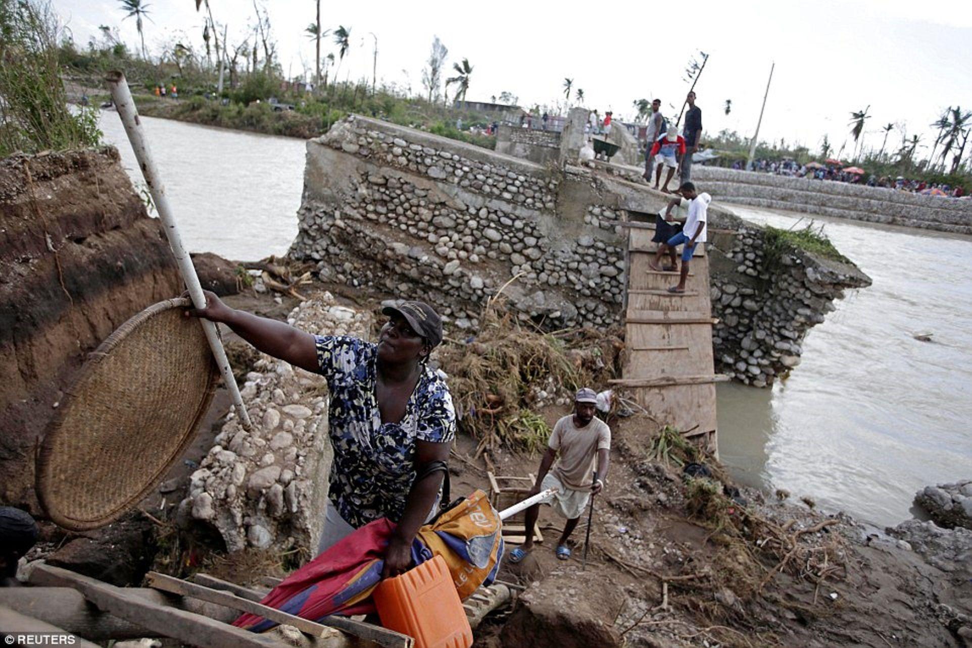 Haití después del paso del huracán Matthew