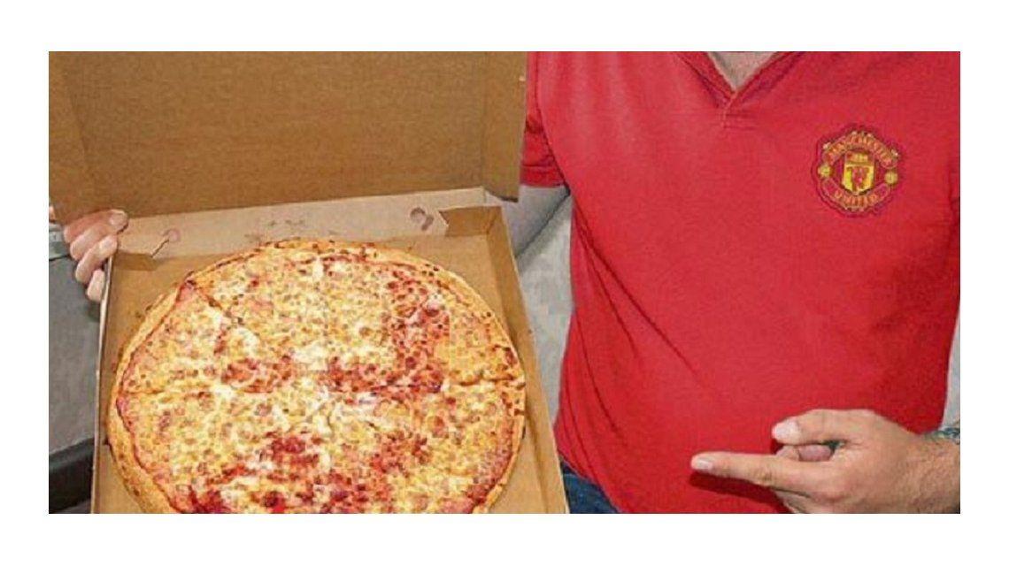 ¿Es un milagro? Encontraron el rostro de Guardiola en una pizza