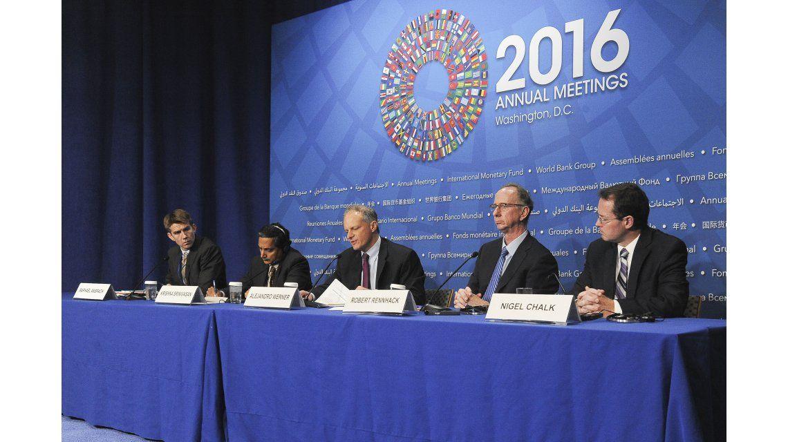 Conferencia de prensa FMI
