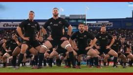 El haka de los All Blacks ante Los Pumas en Liniers