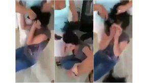Mamá rapó a su hija como castigo -Captura de YouTibe
