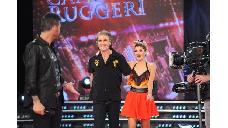 El rock de Oscar y Candela Ruggeri.