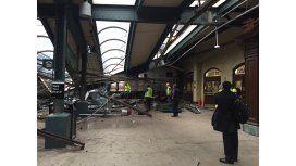 Tres muertos y 100 heridos por el choque de un tren en Nueva Jersey