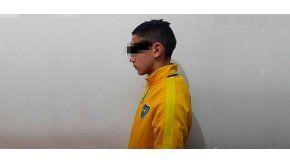 El adolescente quedó detenido por el crimen de Luciano Guzmán