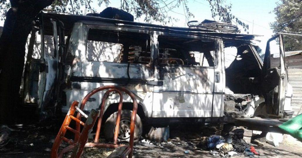 Tragedia en José C. Paz: se incendió una camioneta y murió un nene