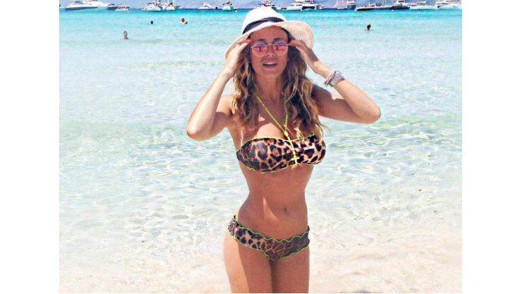 La periodistaDiletta Leotta sufrió el hackeo de fotos íntimas.