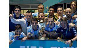 Diego Giustozzi, el DT de la Selección Argentina de Futsal.