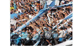 Barra de Racing.