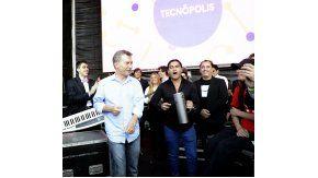 Macri cantó y bailó cumbia en Tecnópolis