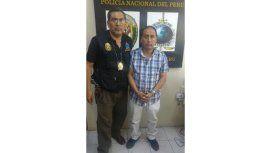 Detuvieron en Perú a Ruti