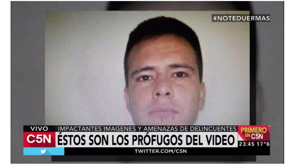 Estas son las caras de los delincuentes del robo del millón que amenazan con el violento video