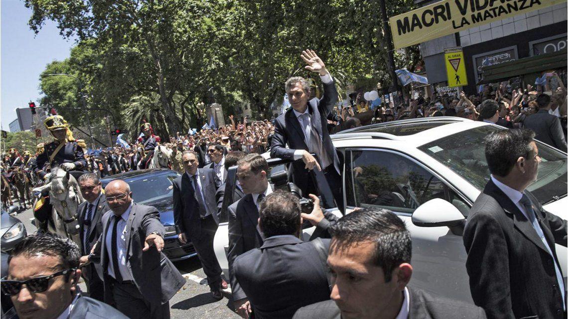 Macri fue agredido durante una visita a Mar del Plata