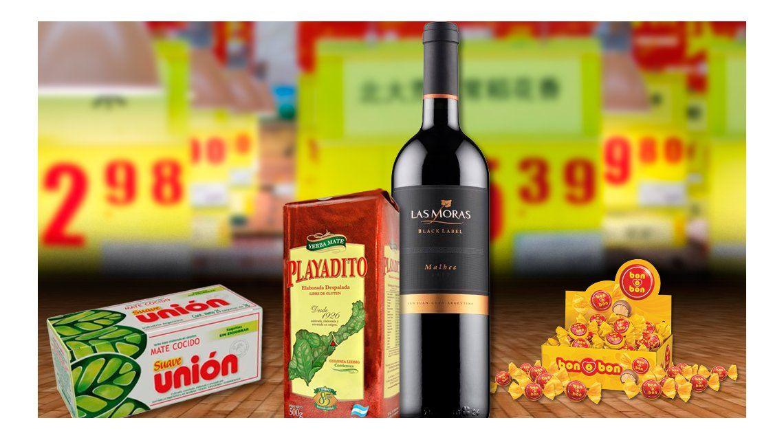 Algunos de los productos que invadieron el mercado chino