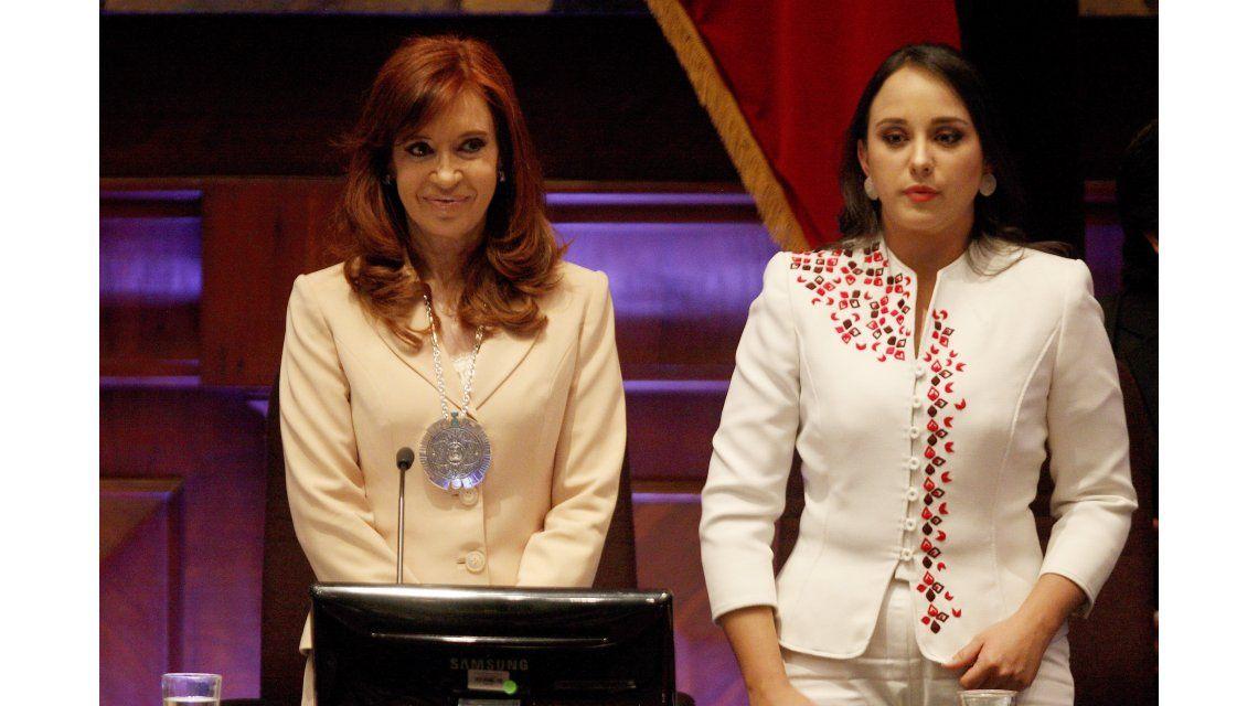 Cristina Kirchner fue condecorada por la Asamblea Nacional de Ecuador