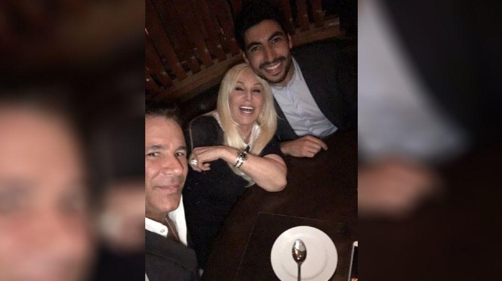 Fernando Carrillo cenó con Susana Giménez y se enojó con un conductor: el motivo
