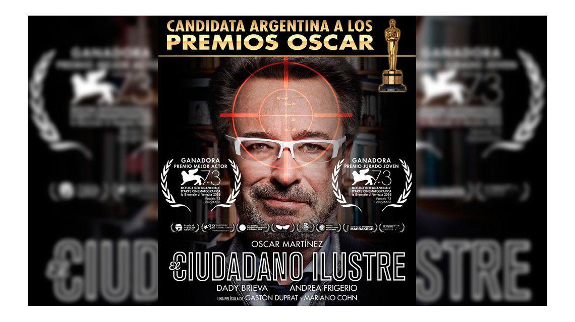 El ciudadano ilustre representará a Argentina en los Oscar 2017.