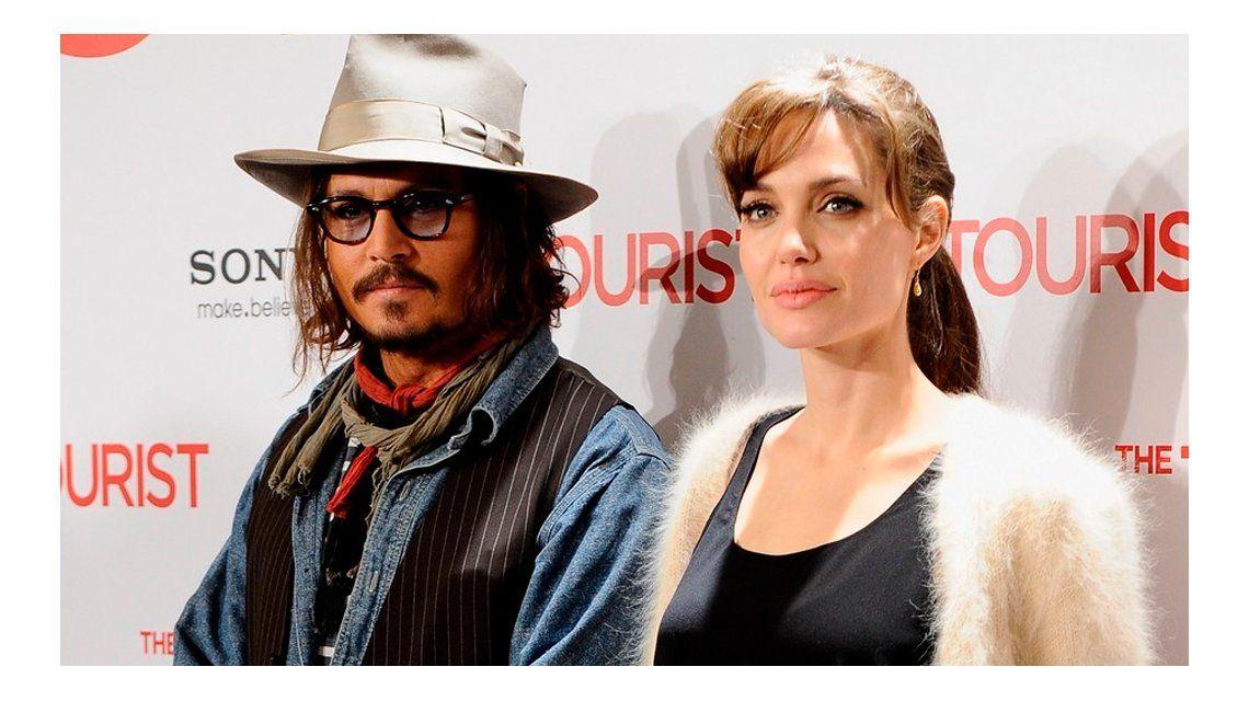 Johnny Depp, involucrado en la separación de Angelina Jolie y Brad Pitt