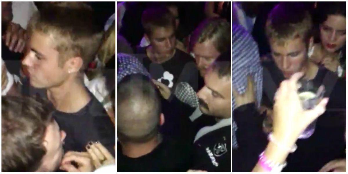 VIDEO: Justin Bieber fue atacado por un hombre en una disco de Munich