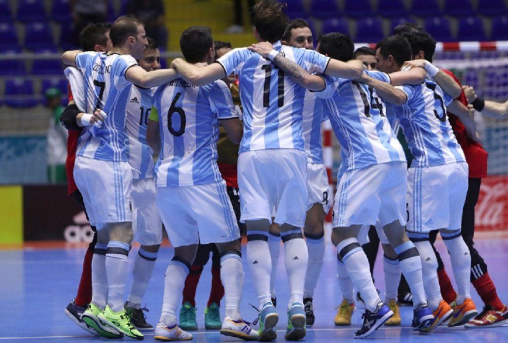 La Selección argentina de futsal ya está en semifinales del Mundial