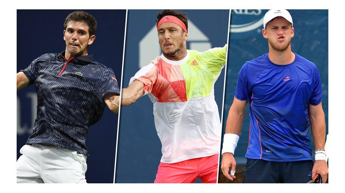 Delbonis, Mónaco y Schwartzman: los tres argentinos en el ATP en China