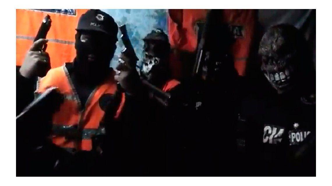 VIDEO: Así amenazan los ladrones del millón de pesos a los investigadores
