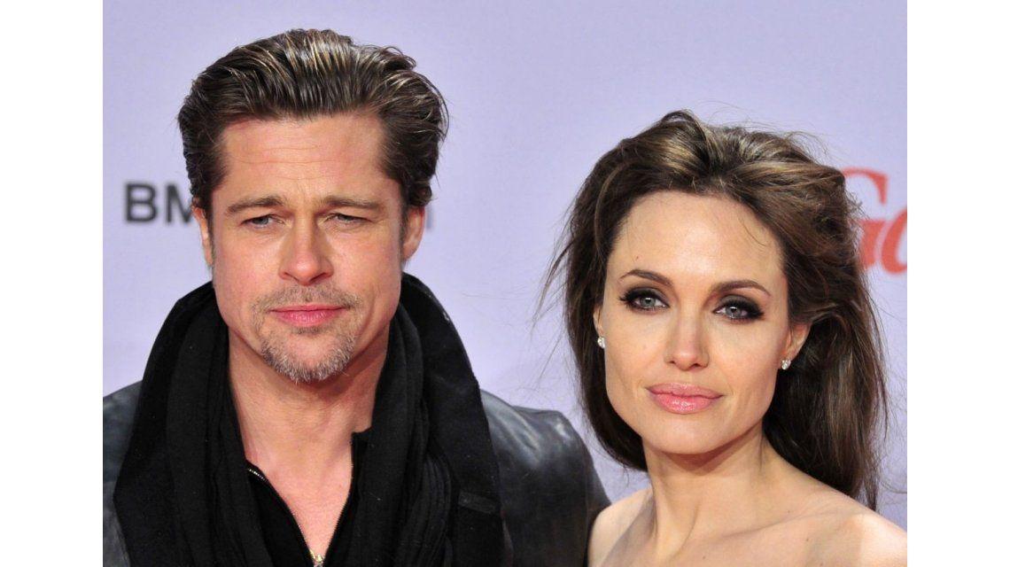 El mapa que demuestra que Brad Pitt y Angelina Jolie estaban separados hace meses