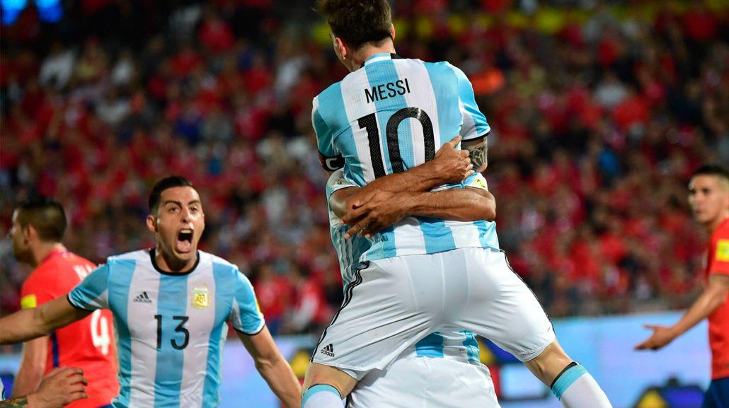 Funes Mori busca sumarse al festejo de Messi