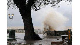 Rige un alerta por vientos intensos en la Ciudad