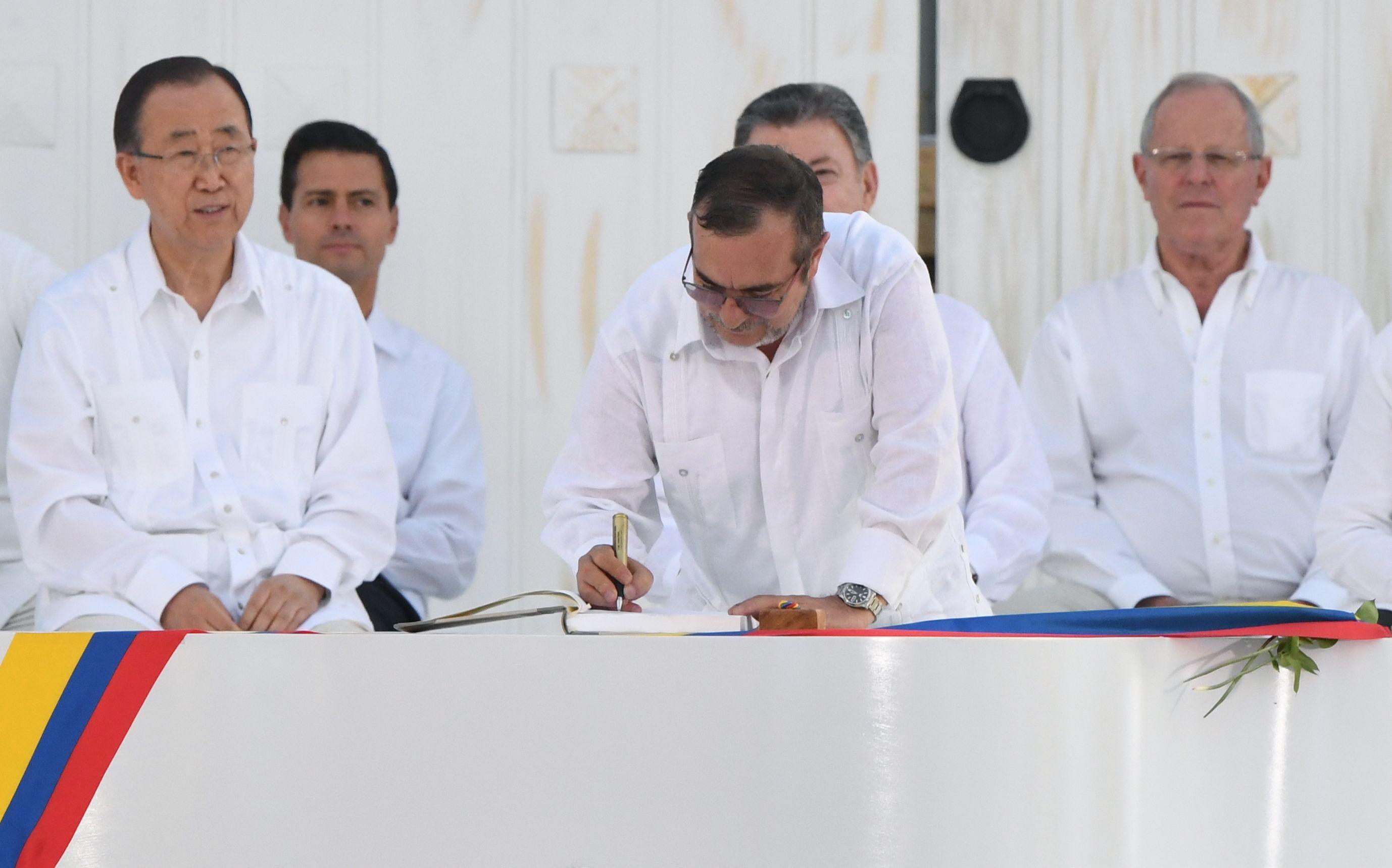 Colombia y las FARC firmaron un histórico acuerdo