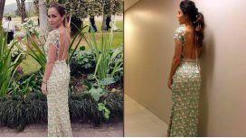 Gisela Dulko usó el mismo vestido que Jimena Barón en la gala de Gente