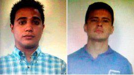 Éstos son dos de los prófugos que robaron un banco en General Rodríguez