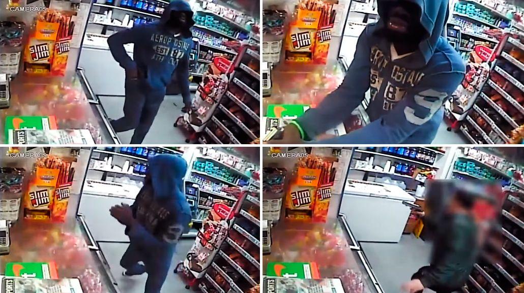 Dame el dinero o te liquido: ladrón se llevó una sorpresa y tuvo que escapar