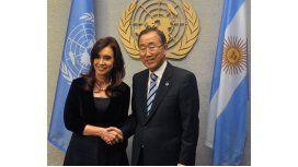 Cristina acusó a Macri ante la ONU por capitular frente a los fondos buitres
