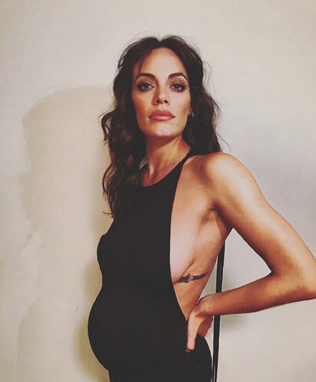Mamita sexy: mirá la selfie hot de Emilia Attias, embarazada