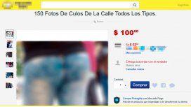 Polémica en la web: se ofrecen fotos de colas de mujeres en la vía pública