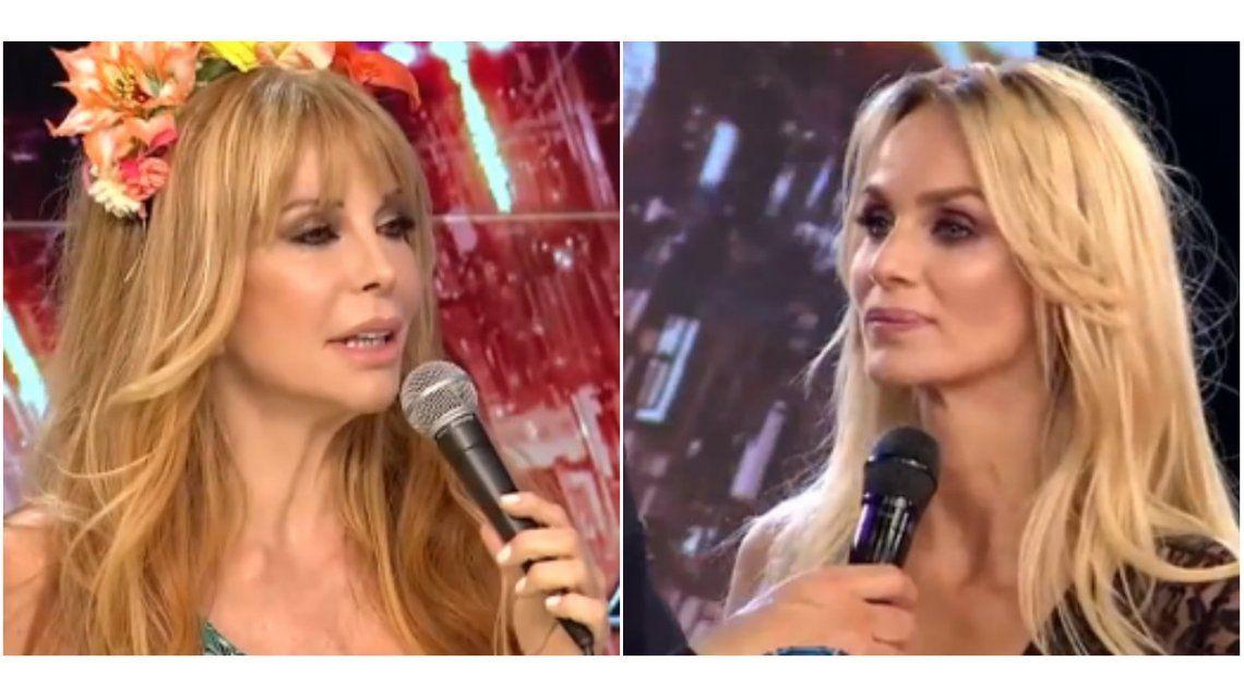 ShowMatch: cruce de ironías y chicanas entre Graciela Alfano y Sabrina Rojas