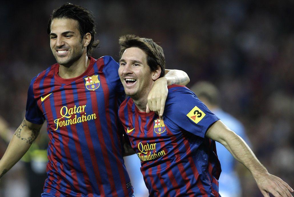 Fábregas es uno de los grandes amigos de Messi en el mundo del fútbol