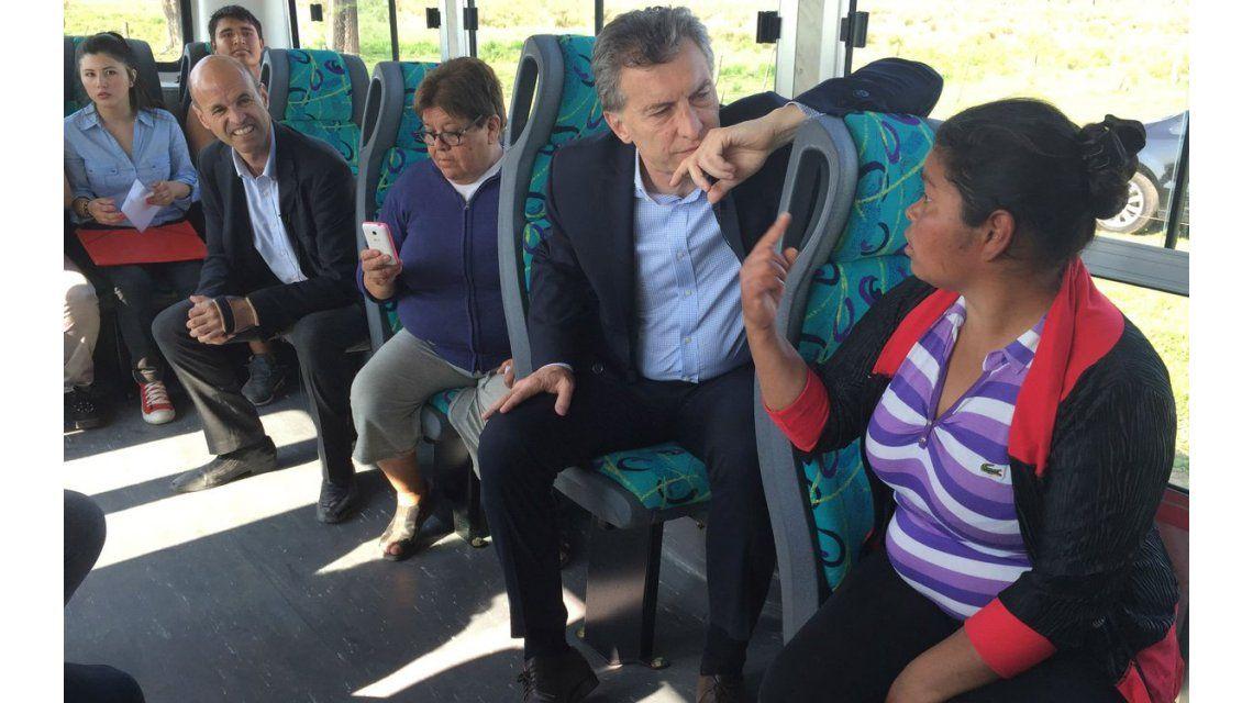 Asesor de Macri defendió el viaje armado en colectivo que hizo el Presidente