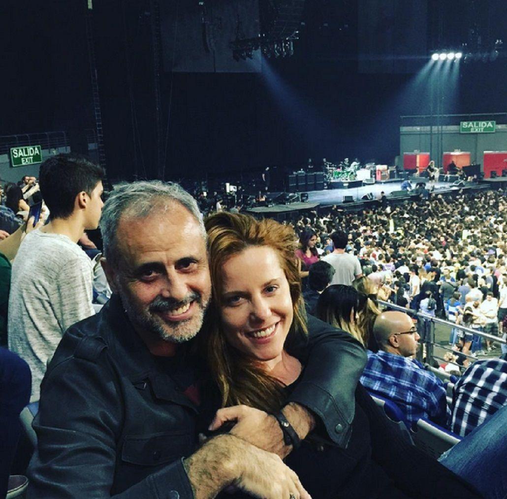 Jorge Rial y Agustina Kampfer.
