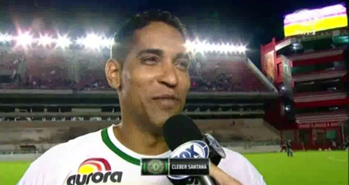 Chicana para Independiente: a Cleber Santana, figura de Chapecoense, le gusta la cancha de Racing
