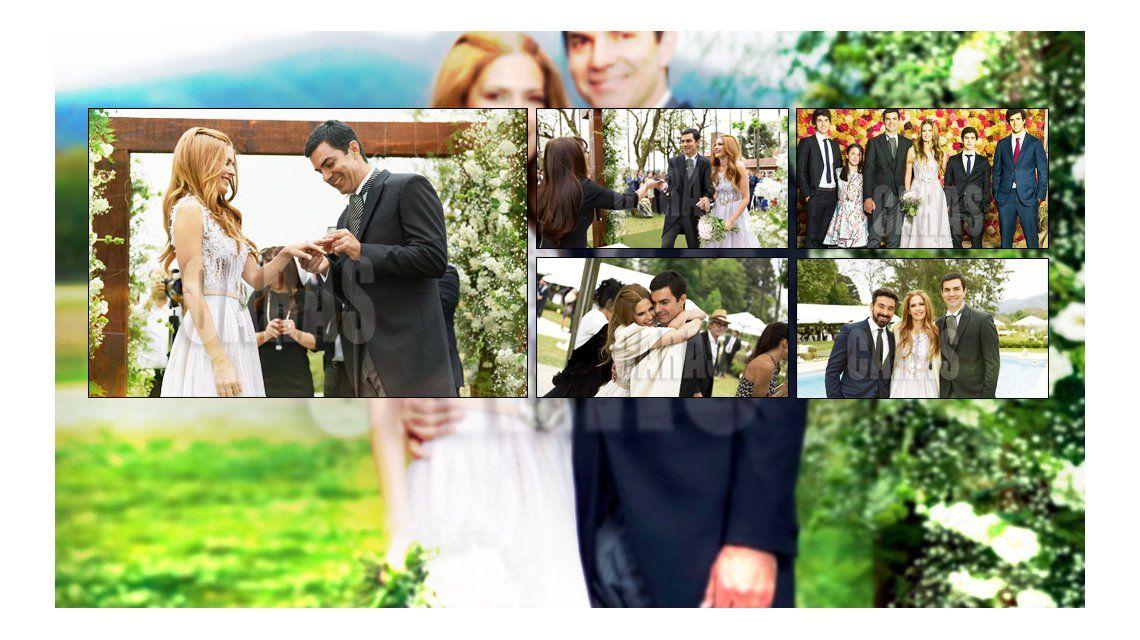 ¡Oficiales! Las fotos más románticas del casamiento de Macedo y Urtubey