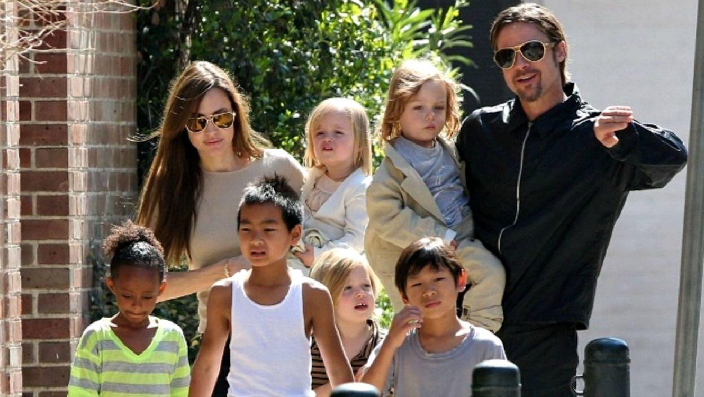 Brad Pitt peleará por la custodia de sus hijos