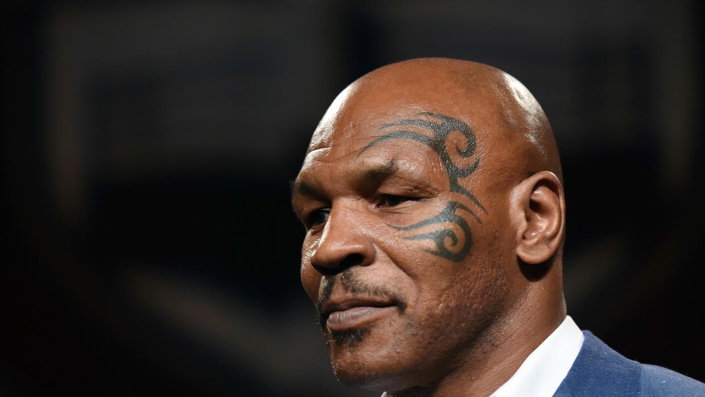 Insólito: Mike Tyson quiere registrar el famoso tatuaje que tiene en la cara