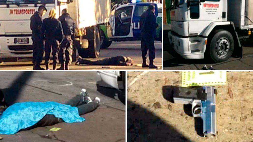 Otro justiciero: un camionero mató a un delincuente que intentó asaltarlo en Lanús